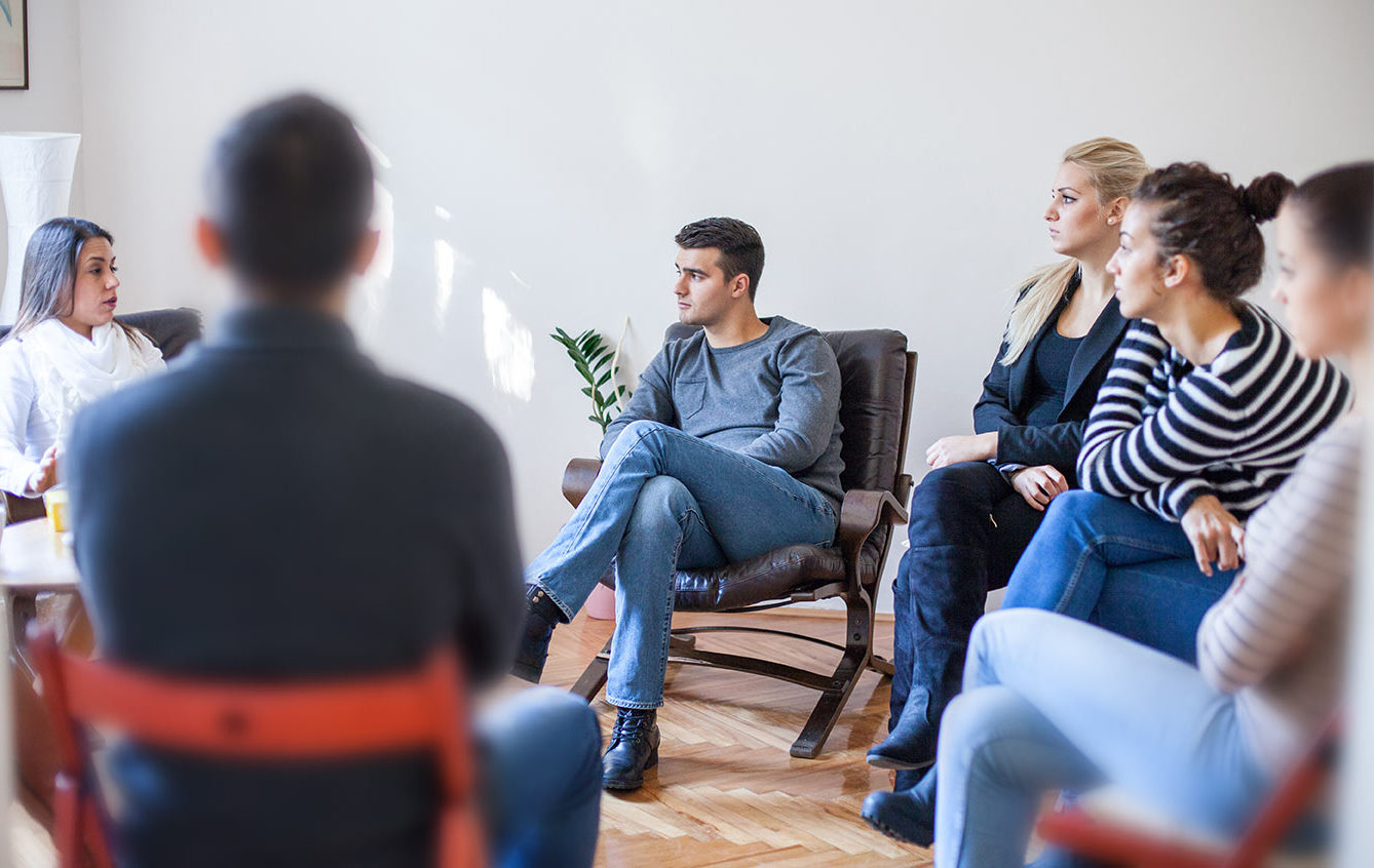 Group therapy with trained psychotherapist in North London